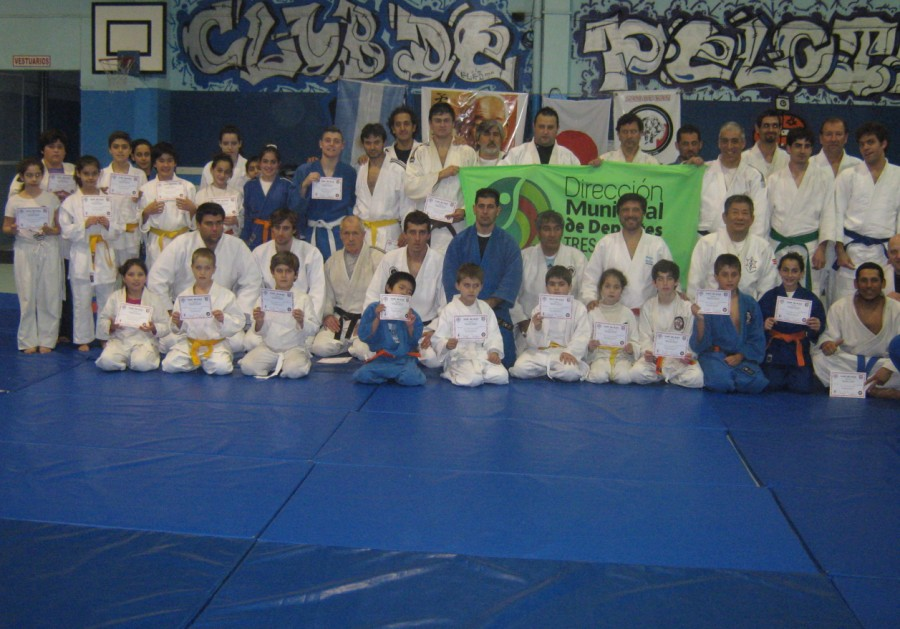 Curso Internacional de Judo 2014 en Tres Arroyos