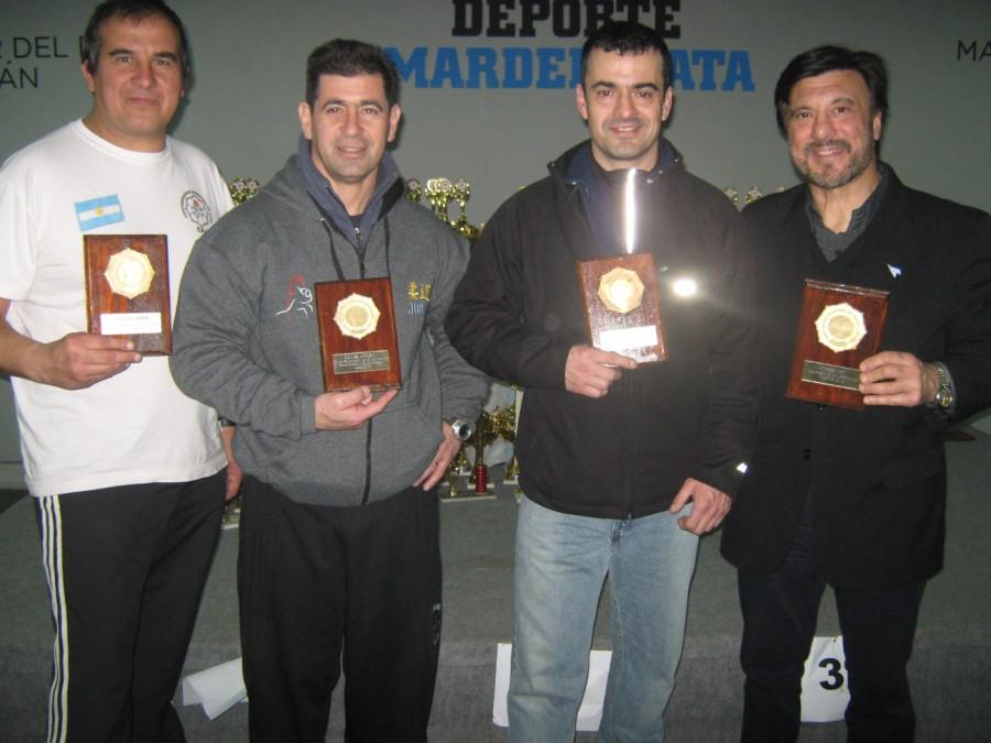 Judokas Master de la Regional Atlántica