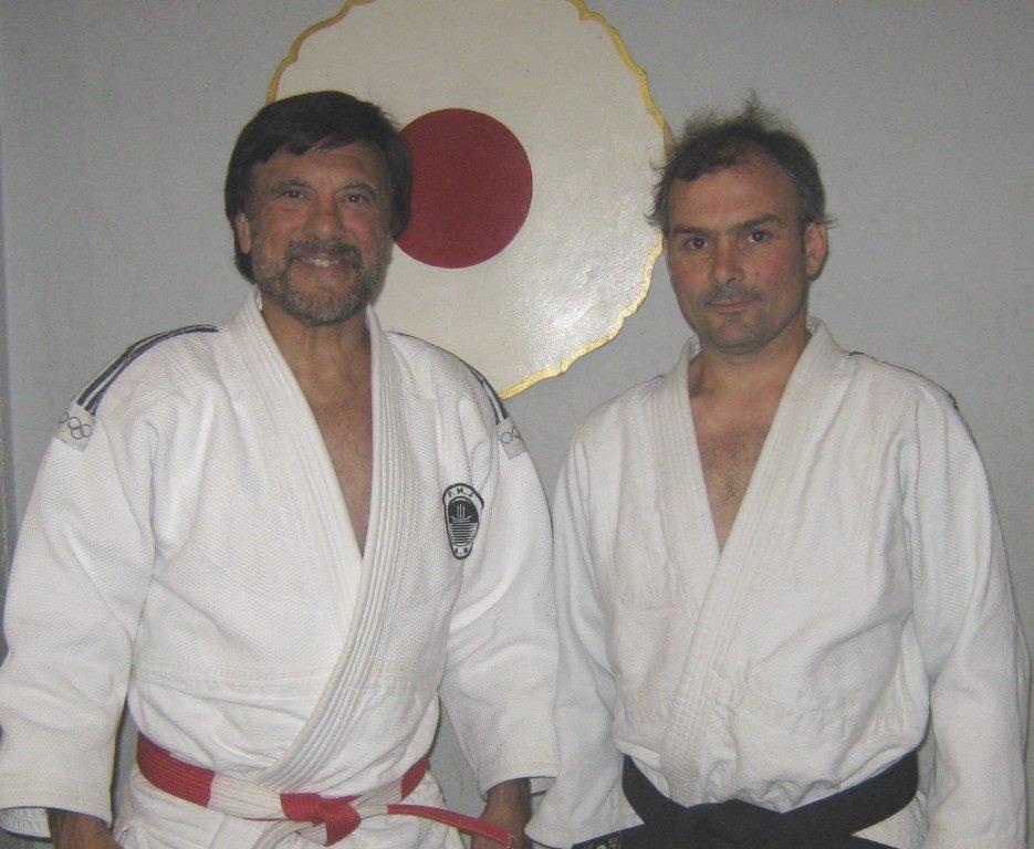 Juan Manuel Gregores con el Maestro Jorge Juri.