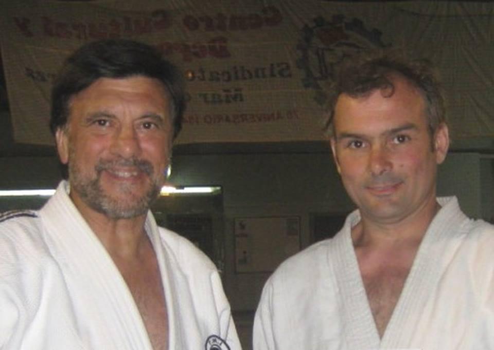 El Mtro. Jorge Juri y Juan Manuel Gregores