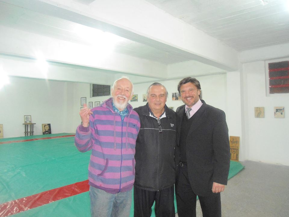 Ruben Papagni , Marcelo Beltramino y Jorge Juri