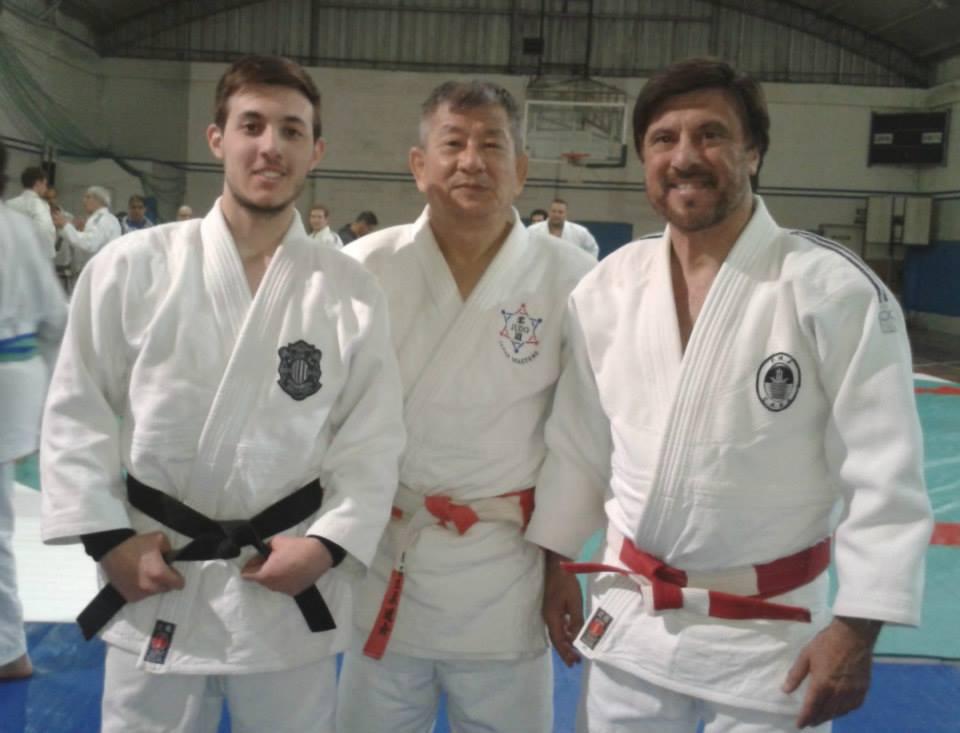 Prof. Kevin Juri , Mtro. Masatoshi Kikuchi ,  Mtro. Jorge Juri