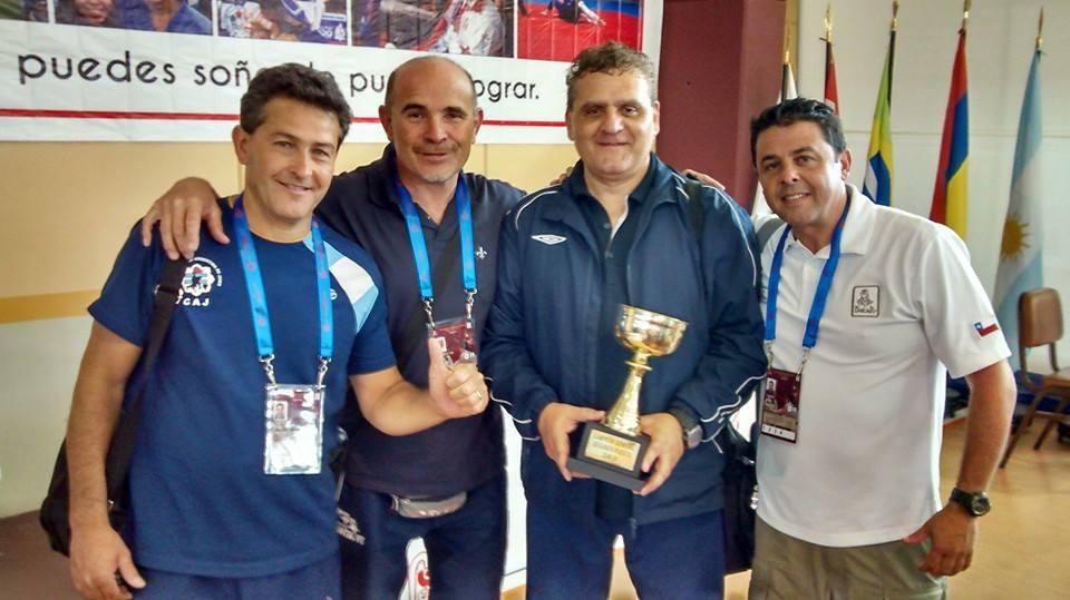 Equipo de Técnicos y Médico  de la Confederación Argentina de Judo Sub 13 y Sub 15