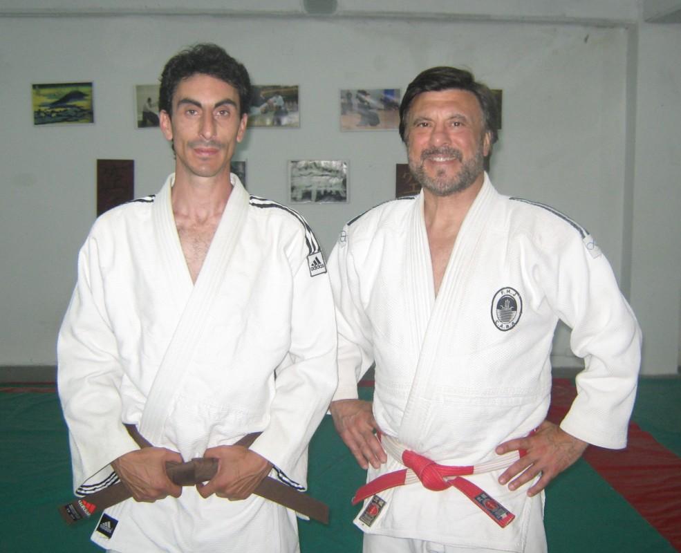 Esteban Sierra con el Mtro. Jorge Juri .