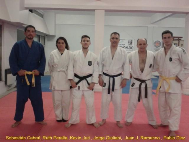 Judokas de C.A. Peñarol MdP/Academias Juri (Clase de Katas)