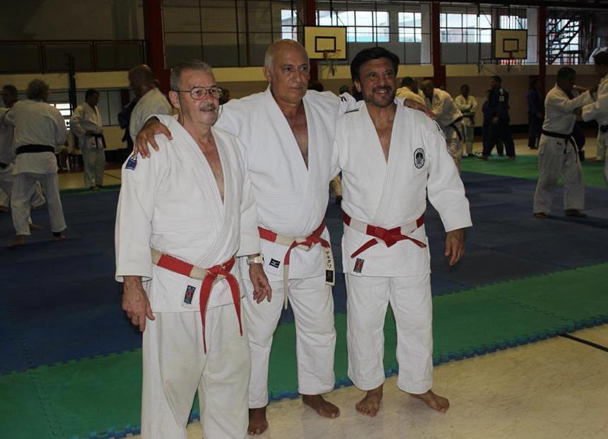 Maestros , Miguel A. Russo, Carlos De Negri y Jorge Juri
