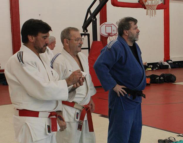 Mtro. Jorge Juri, Mtro. Miguel Angel Russo y el Profesor  Gustavo Valle.