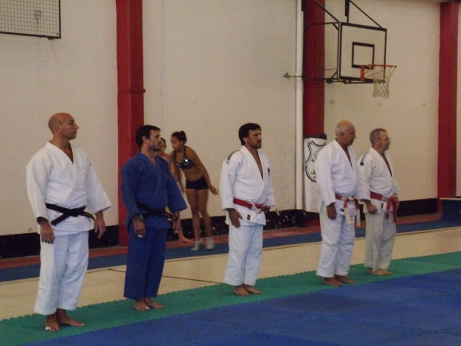 De izquierda a Derecha: Diego Rebello, Gustavo Picate, Jorge Juri, Carlos De Negri y Miguel Angel Russo.