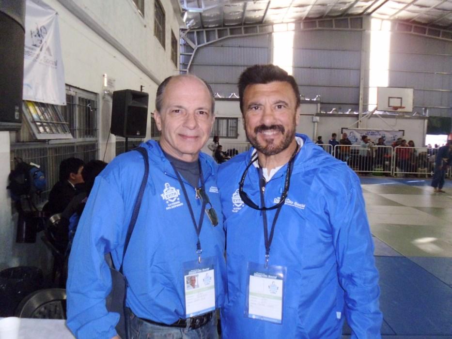 Juan José Ramunno (Izq.) y Jorge Juri (Der.)