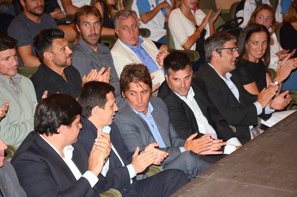Dirigentes Deportivos , integrantes del Consejo Asesor y Autoridades del EMDeR.