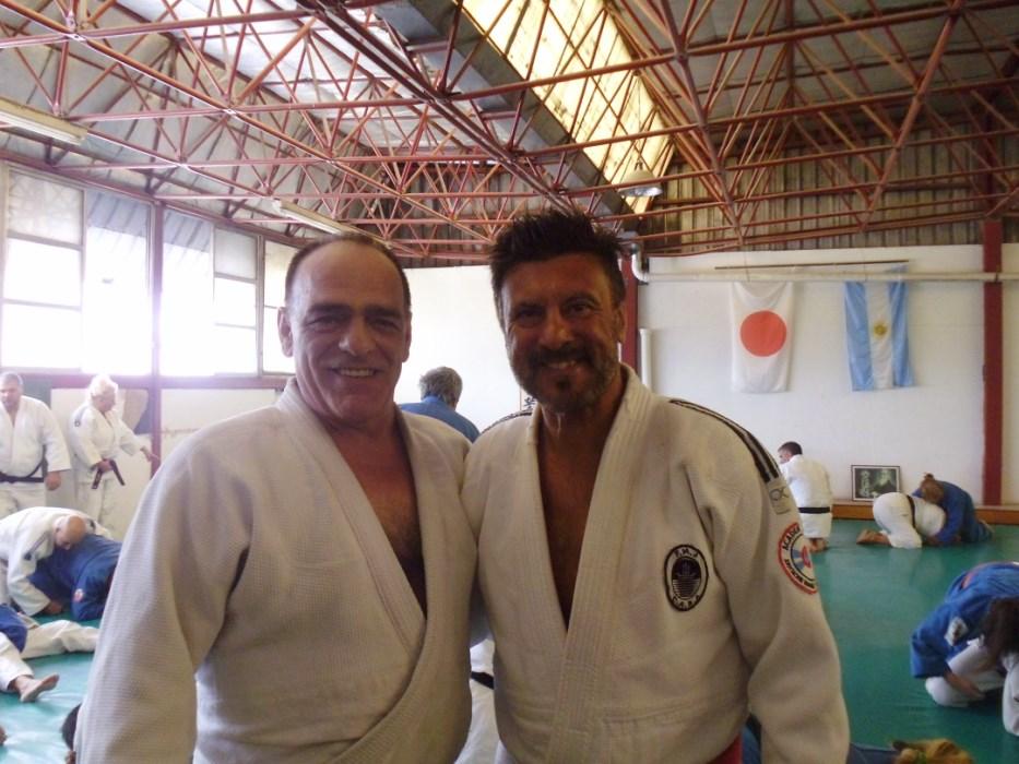 Maestros Víctor Savini y Jorge Juri