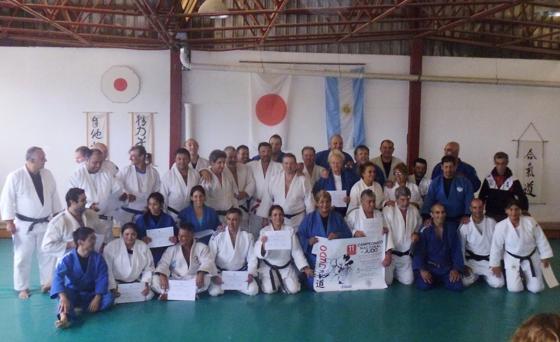 Participantes del Campo Nacional de Entrenamiento Master(Veteranos)