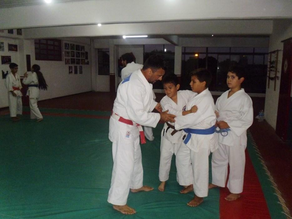 Judo  con el Maestro Jorge Juri.