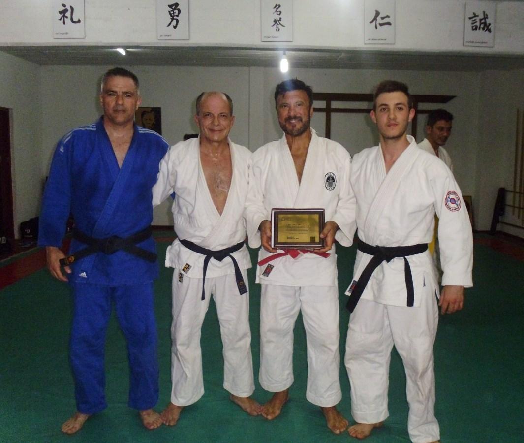 Jorge Giuliani , Juan José Ramunno, Jorge Juri y Kevin Joaquín Juri.