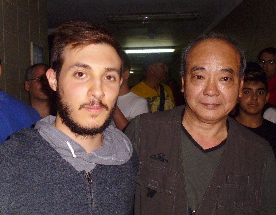2 de los Tecnicos de Federacion Metropolitana Kevin Juri y Maestro Masaru Kanashiro