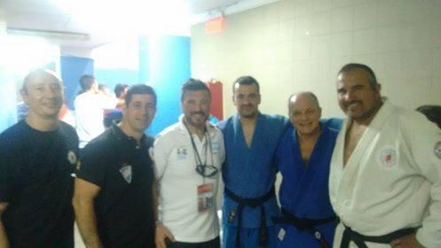 Judokas de Federacion Metropolitana Categoria Senior  con los Tecnicos   Jorge Juri y Daniel Arregui