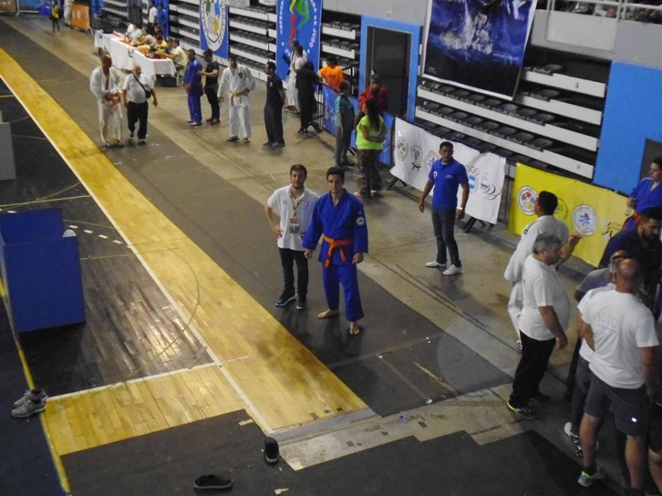 Prof. Kevin Juri y Pablo Diez (Federacion Metropolitana de Judo)