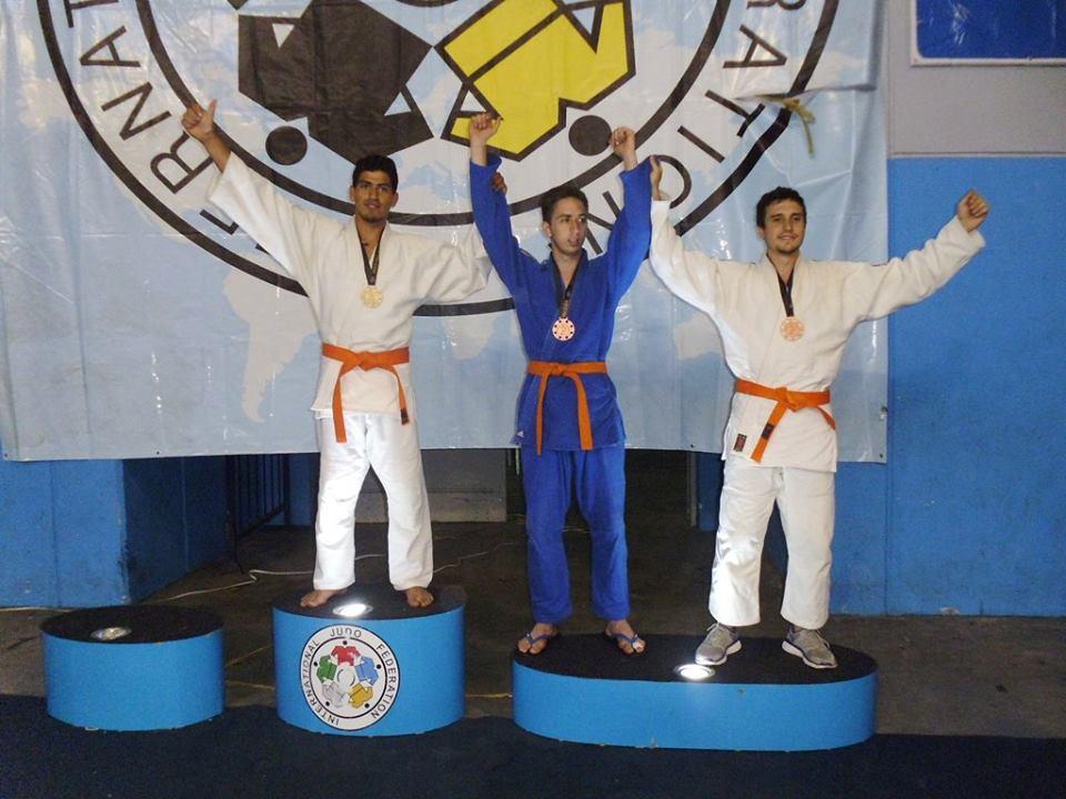 Podio Kyus Novicios - 81 kg