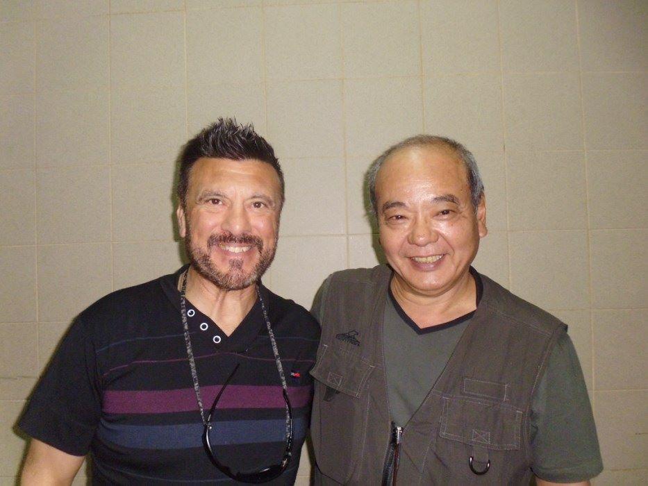 Maestros Jorge Juri y Masaru Kanashiro