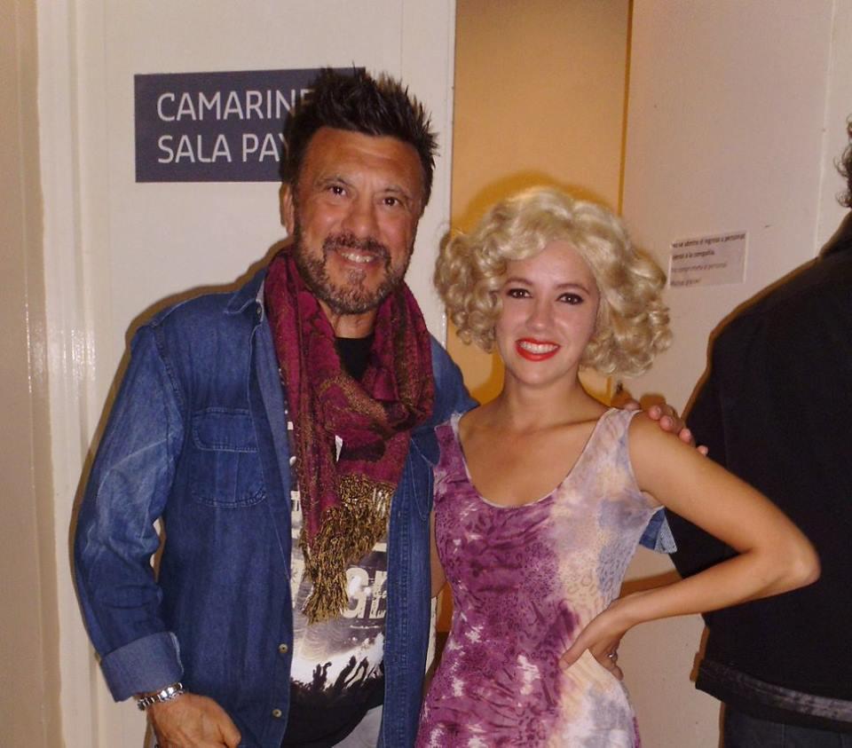 Dos Judokas Jorge Juri y Michelle Huerta - Cantante y Actriz en el Teatro....
