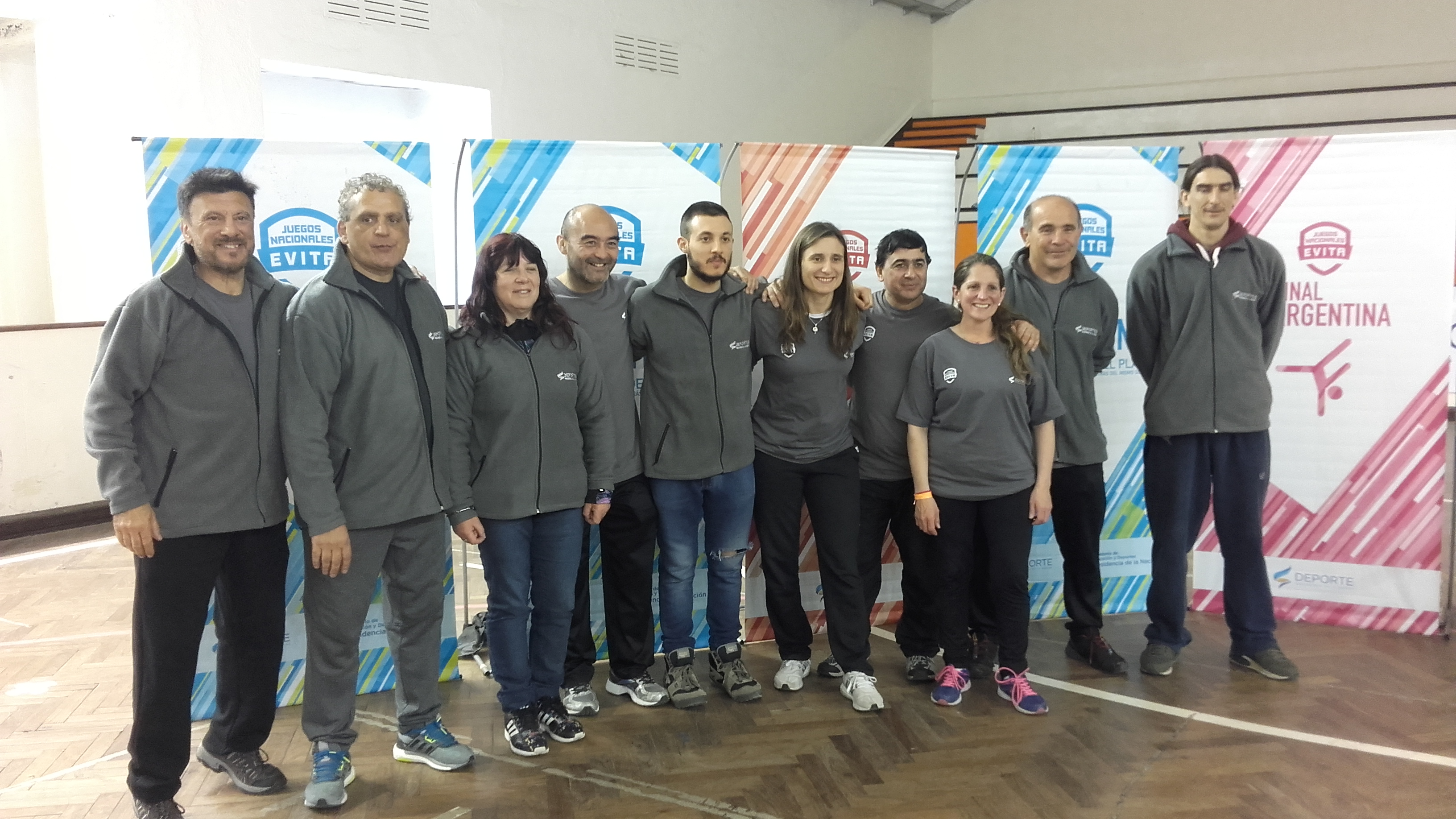 Staff Confederaciòn Argentina de Judo Finales   Juegos Evita:J.Juri, A.Janeiro, L.Escudero , L.Kohatsu,K.Juri,V.Tittarelli,W.Olmos,  . Olmos ,J.Navarrete y  F. Alonso