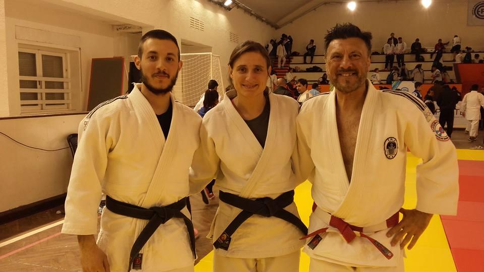 Kevin Juri , Vanesa Tittarelli y Jorge Juri