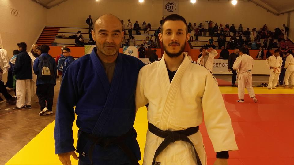 Profesores Leonardo  Kohatsu y Kevin Juri