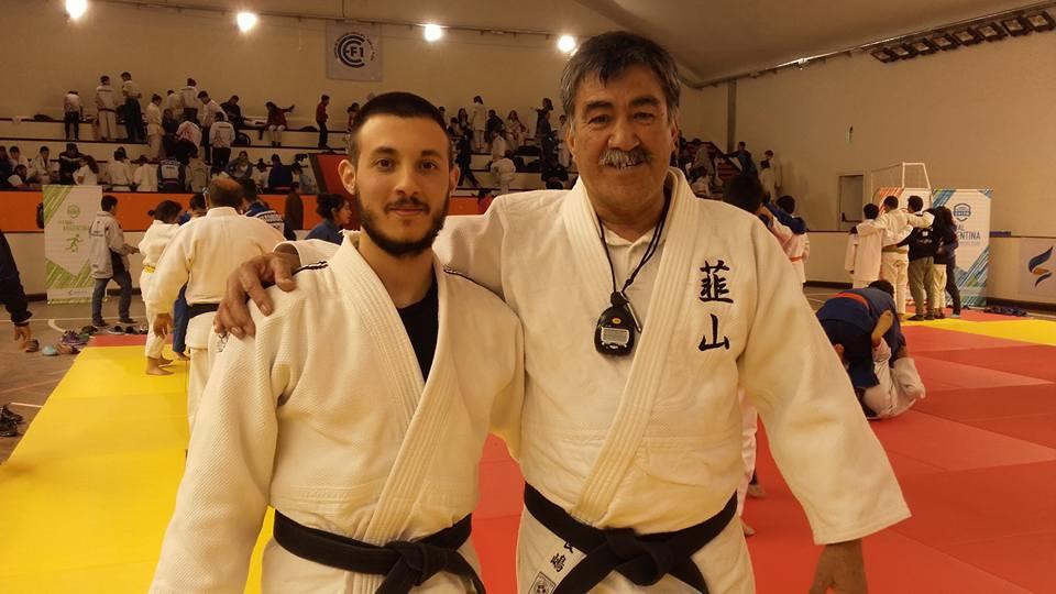 Prof. Kevin Juri (Mar del Plata) y el Mtro. HHoracio Cjandia(Neuquen)