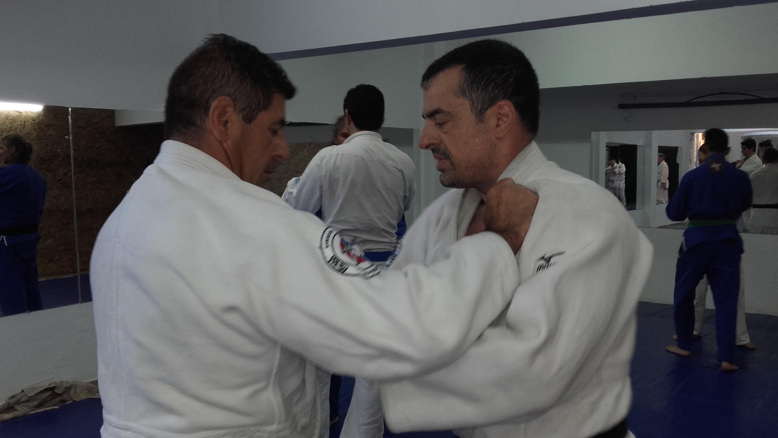 Daniel Arregui con Alejandro Lobos